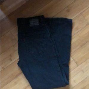 Men's Levi's Black Skinny cut Jeans